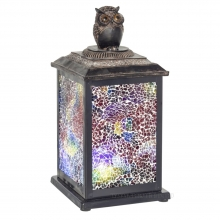 Декоративное изделие Фонарь с подсветкой (2 режима), 14х14х28.5 см (3хАА не прилаг.)