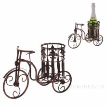Подставка под бутылку Велосипед, 35х22 H12,5см