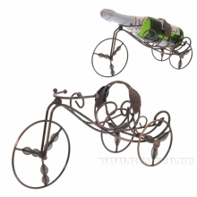 Подставка под бутылку Велосипед,, 36х17 H12см