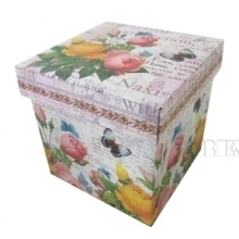 Коробка подарочная (складная), L20 W20 H20 см