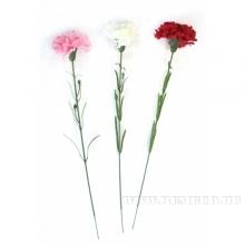 Искусственный цветок Гвоздика, L48 см, 3в.