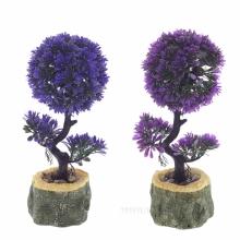 Цветы искусственные в кашпо