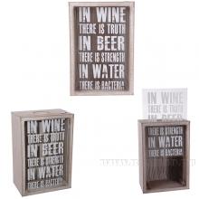 Копилка для винных пробок, L12.5 W8 H18 см