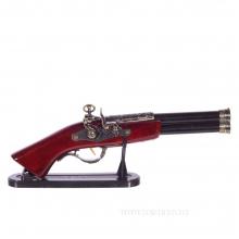 Изделие декоративное Пистолет на подставке, L38 см