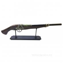 Декоративное изделие Ружье на подставке, L64 см