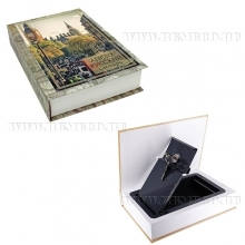 Книга-сейф с замком Англо-русский словарь, L15,5 W4 H21,5см