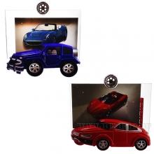 Фоторамка Автомобиль, L15.5 W3.5 H14 см, 2в