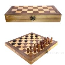 Игра настольная 3 в 1 (шахматы, шашки, нарды), L29 W14 H4,5 см