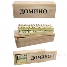 Настольная игра Домино, L15.5 W5.5 H4 см