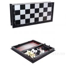 Игра настольная 3 в 1  (шахматы, шашки, нарды) с магнитной доской, L20 W9.5 H3.5 см