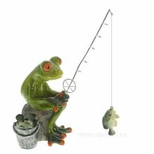 Лягушки, мишки (декоративные фигурки)