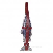 Фляжка Рыба в чехле (500мл), L10 W4 H33 см