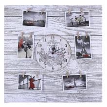Фотопанно для 7-и фотографий с композицией  Время, L60H60 cм.