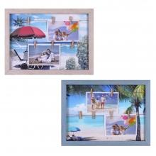 Коллаж для 2 фото, L30 W2 H40 см, 2в.