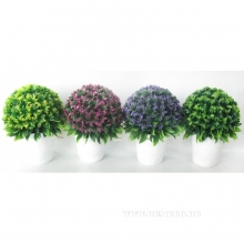 Цветочная композиция, L15 W15 H23 см, 4в