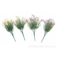 Искусственная ветка Полевые цветы, L34cм,4в.(без инд упаковки), 4в.