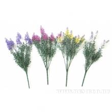 Цветок искусственный Дербенник,  H38 cм,4в.(б/инд.уп.)