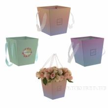 Коробка подарочная для цветов, L17 W17 H18 см, 3в