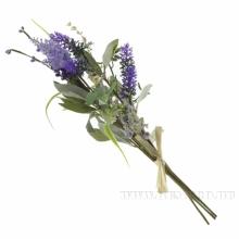 Цветок искусственный Букет Лаванды ,  H43 см (б/инд.уп.)