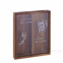 Копилка для винных пробок, L28 W4.7 H36 см , (б/инд. уп.)