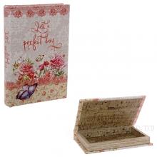 Шкатулка-книга, L21 W14 H3 см
