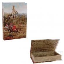 Шкатулка-книга, L24 W16 H5см
