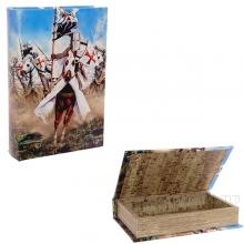 Шкатулка-книга, L24 W16 H5 см
