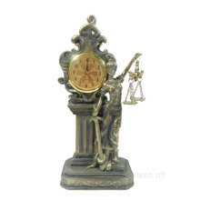 Часы настольные Фемида , L12 W7 H24.5 см