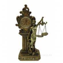 Часы настольные Фемида , L15.5 W9.5 H31 см