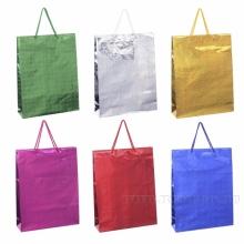 Пакет подарочный(бумага, плотность 128г/м2, блок из 12-и шт.), L26 W8 H34  см, 6в