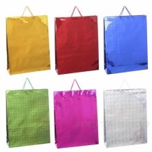 Пакет подарочный(бумага, плотность 128г/м2, блок из 12-и шт.), L43 W13 H55 см, 6в