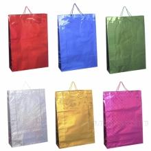 Пакет подарочный(бумага, плотность 128г/м2, блок из 12-и шт.), L49 W16 H69 см, 6в