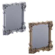 Зеркало настольное, L11 W2 H17см, 2в
