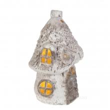 Фигурка декоративная с подсветкой Домик (3хААА, не прилаг.), 27,5х25,5х42,5см