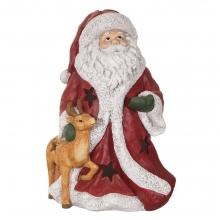 Фигурка декоративная с подсветкой Санта (3хААА, не прилаг.), 32,5х28х48см