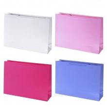 Пакет подарочный, (бумага, плотность 210г/м2, блок из 12-и шт.), L44 W12 H31 см, 4в