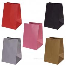 Пакет подарочный (бумага, плотность 210г/м2, блок 12шт), L42,5W28H28см, 5в.